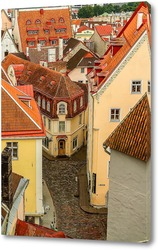 Картина Таллин сверху