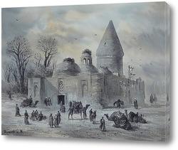 Вид на мавзолей Иова
