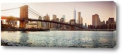 вечерний Бруклин, закат загляденье
