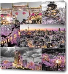 Картина Ночь в Токио