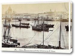 Картина Панорама Невы,1874