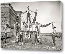 Картина Команда гимнастов «Woodberry Forest», Орэндж, штат Вирджиния, 1910