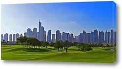 Картина Городской пейзаж в Дубае