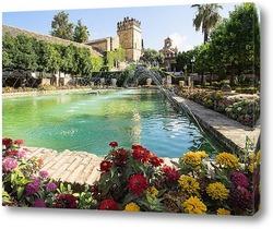 Картина В садах Алькасара