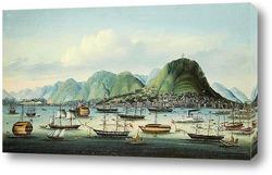 Картина Гавань Гонконга и города Виктория