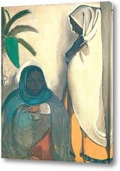 Картина Две женщины