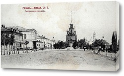 Картина Театральная площадь 1900  –  1905 ,  Россия,  Рязанская область,  Рязань