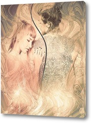Картина Влюбленная пара