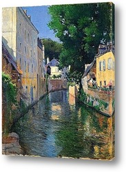 Картина Река Исоле (Кемперле)