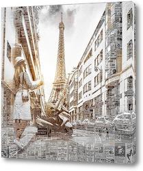 Картина Париж в мечтах