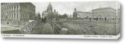 Картина Мариинская площадь 1902