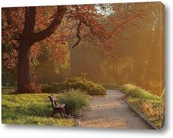 Картина Утро в парке