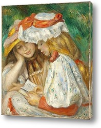Картина Чтение двух человек