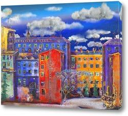 Цветные дома Санкт-Петербурга