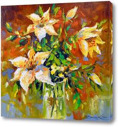 Картина Букет лилий