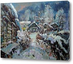 Снежные лапы зимы