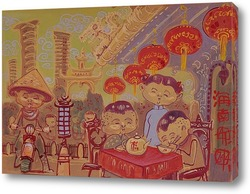 Картина Шанхай