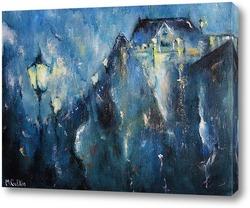 Картина Дождливая ночь