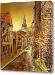 Картина Старый Таллин