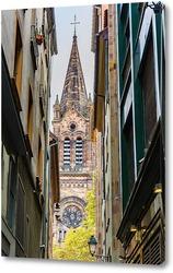 Картина Улица Страсбурга