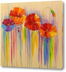 Картина Абстракция цветов