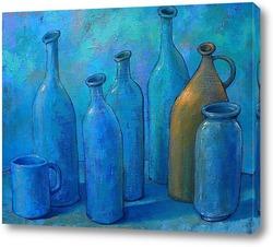 Голубой натюрморт