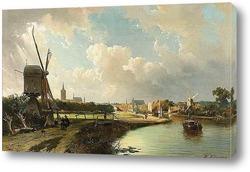Картина Вид на Гаагу