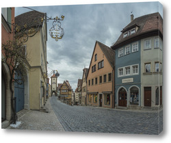 Картина Старый город