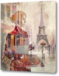 Картина Художник в Париже