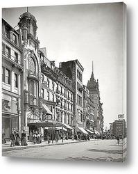 Картина Бостон, штат Массачусетс, 1906