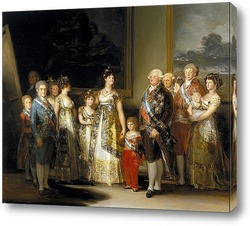 Семейный портрет короля Карла IV (280 х 336)