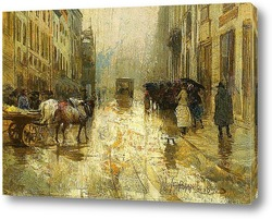 Картина Веккиа Милано, 1890
