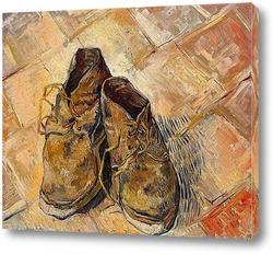 Картина Пара старых ботинок, 1888