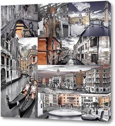 Картина Монохромная Венеция