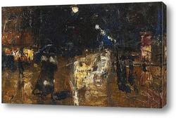 Картина Берлин - в ночь