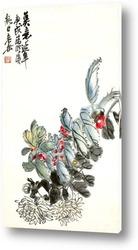 Картина Цветы Хризантемы