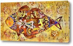 Абстрактная рыба