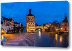 Картина Вечерний Бамберг