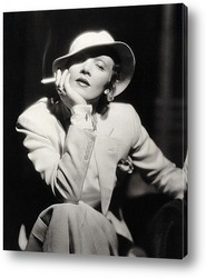 Картина Немецкая актрисса Марлен Дитрих.