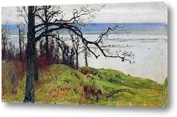 Волга с высокого берега (Сура с высокого берега). 1887