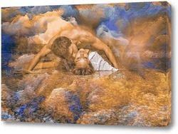 Картина Парень с девушкой