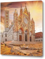 Картина Собор Сиены. Тоскана