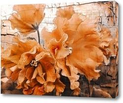 Цветы. Сепия