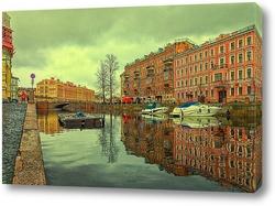 Санкт-Петербург. Канал Грибоедова в районе Могилевского моста.