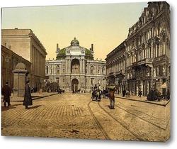 Картина Ришельевская улица, Одесса