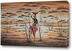 Картина Africa. Donna