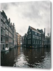 Картина Каналы Амстердама