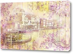 Картина Весна в Венеции