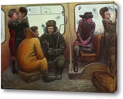 Картина Троллейбус