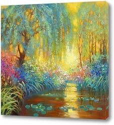Картина Майское утро в Живерни